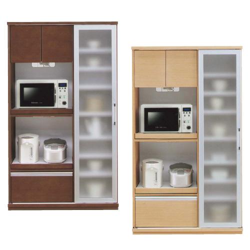 スライドオープン食器棚