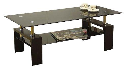 ピース2ガラスセンターテーブル120