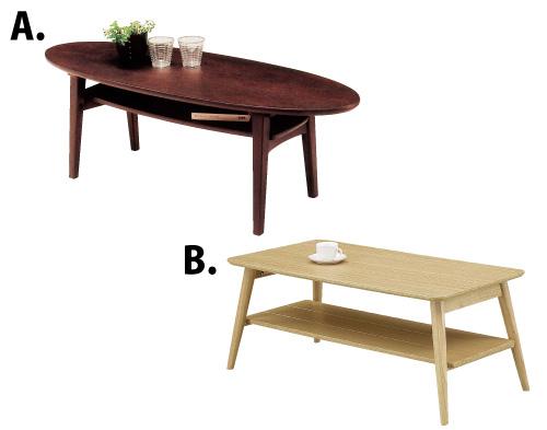 センターテーブル2種類